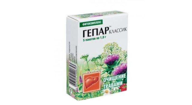 Фитокомплекс ГЕПАР Классик 5 пакетов по 1,0 г.