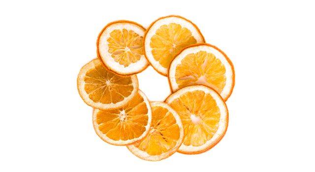 Апельсин сушёный кольца